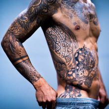 Dragon Tattoo by Simon Halpern at 1 Point Tattoo