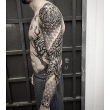 Simon Halpern Arm Tattoo
