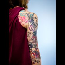 Sleeve laser tattoo removal 1