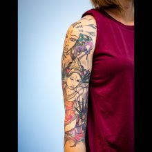 Sleeve laser tattoo removal 2