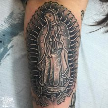 mother of mary tattoo