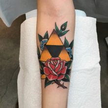 Rose Tattoo By Kaleo