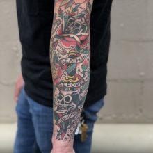 Dagger Tattoo By Kaleo