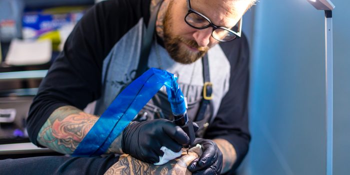 Simon Halpern, Owner and Operator of 1 Point Tattoo