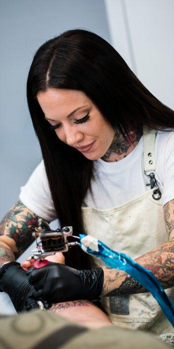 Ash Hochman, Tattoo Artist at 1 Point Tattoo
