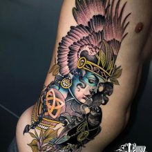 Neo Traditional Tattoos Yvonne @yvkang at 1 point tattoo