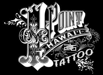 1 Point Tattoo in Kailua, HA