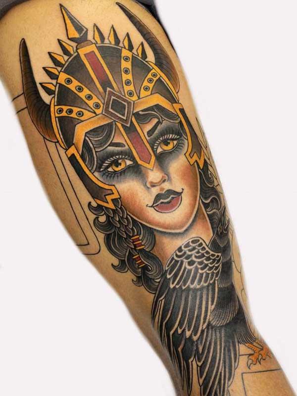 Ash Hochman Empress tattoo