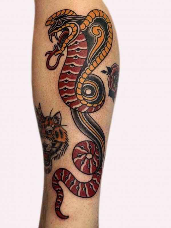 Ash Hochman dragon tattoo
