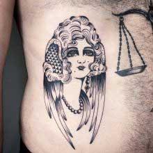 Judd Bowman tattoo of woman
